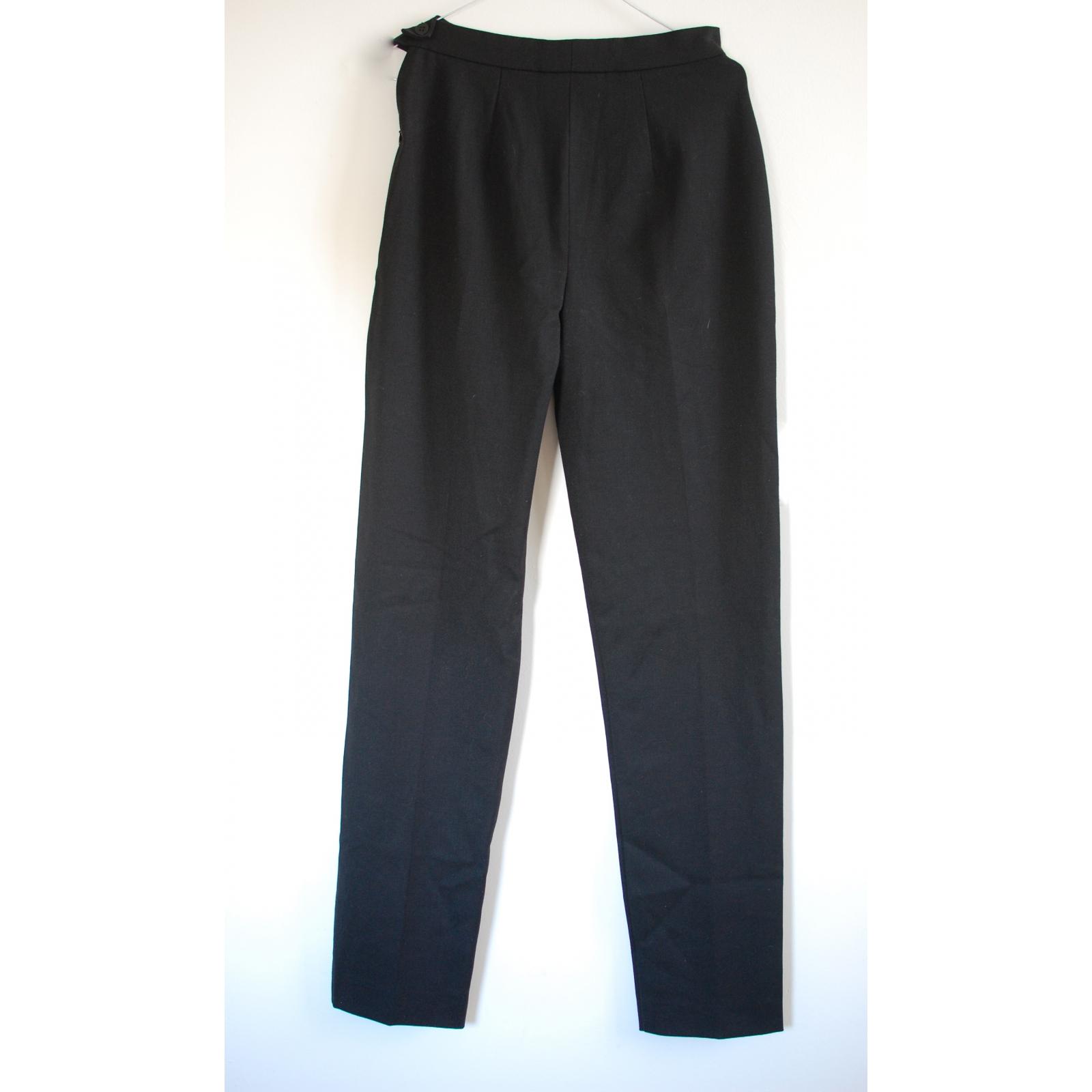 Max Mara high-waisted wool pants