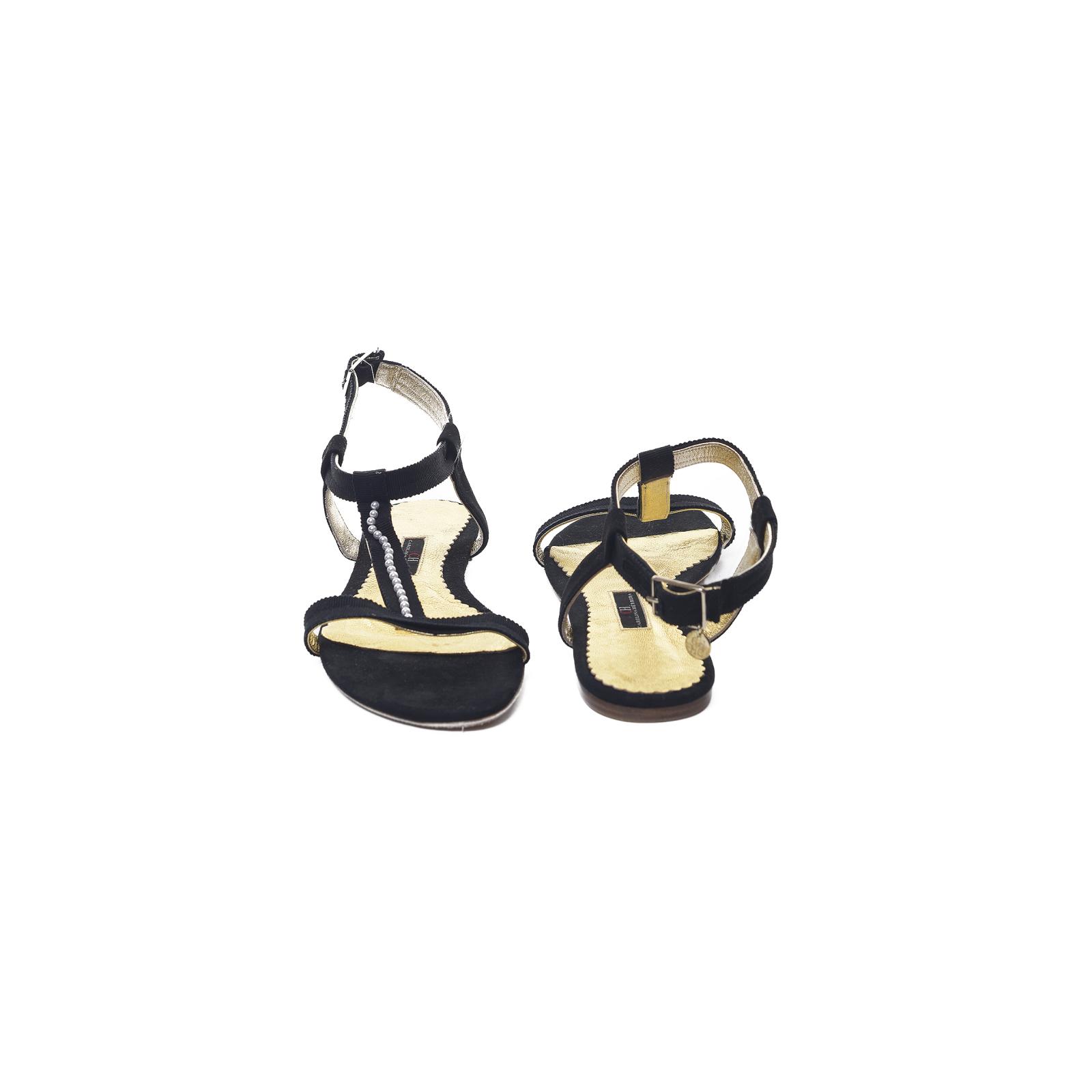 Sandałki z perełkami