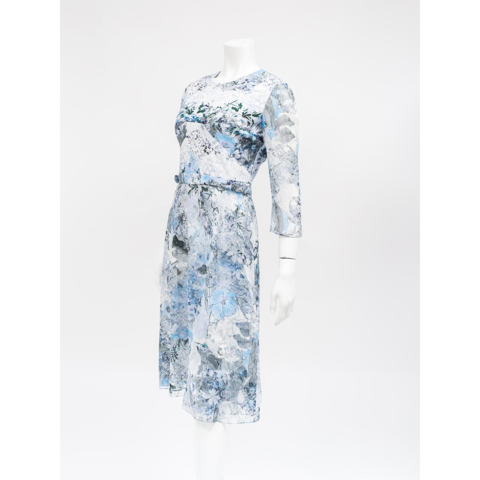 Erdem sukienka w kwiaty