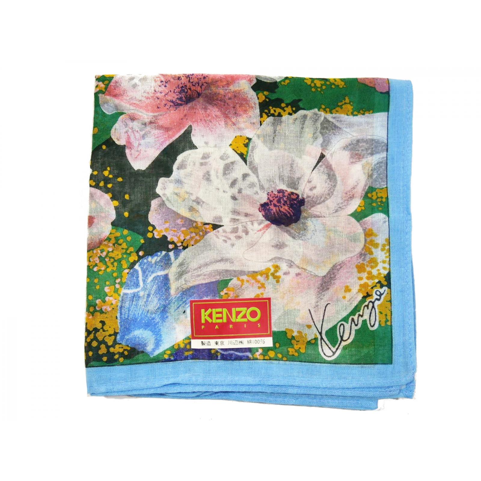 Kenzo Kenya chusta apaszka w kwiaty