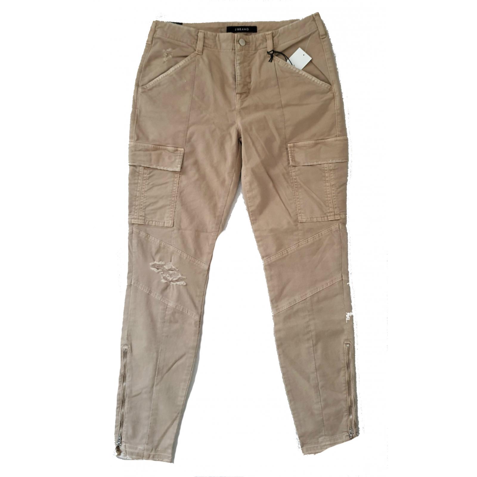 J Brand Houlihan Mid-Rise Skinny Crop Cargo Jeans 29