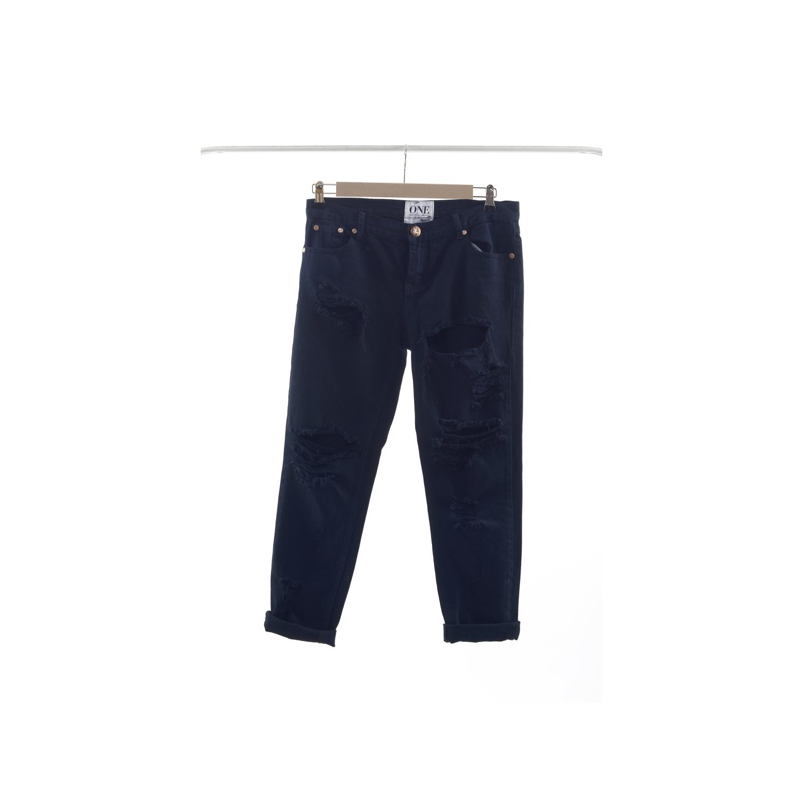 One Teaspoon granatowe jeansy