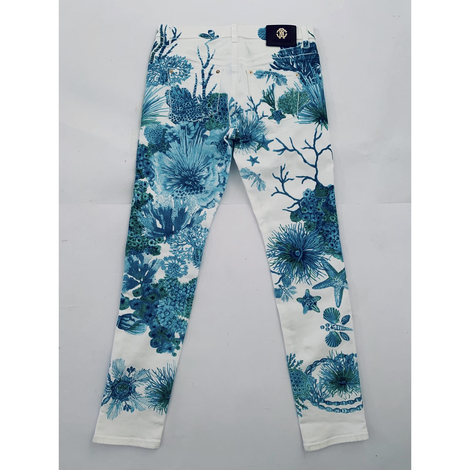 """Elastyczne spodnie """"coral reef print"""""""