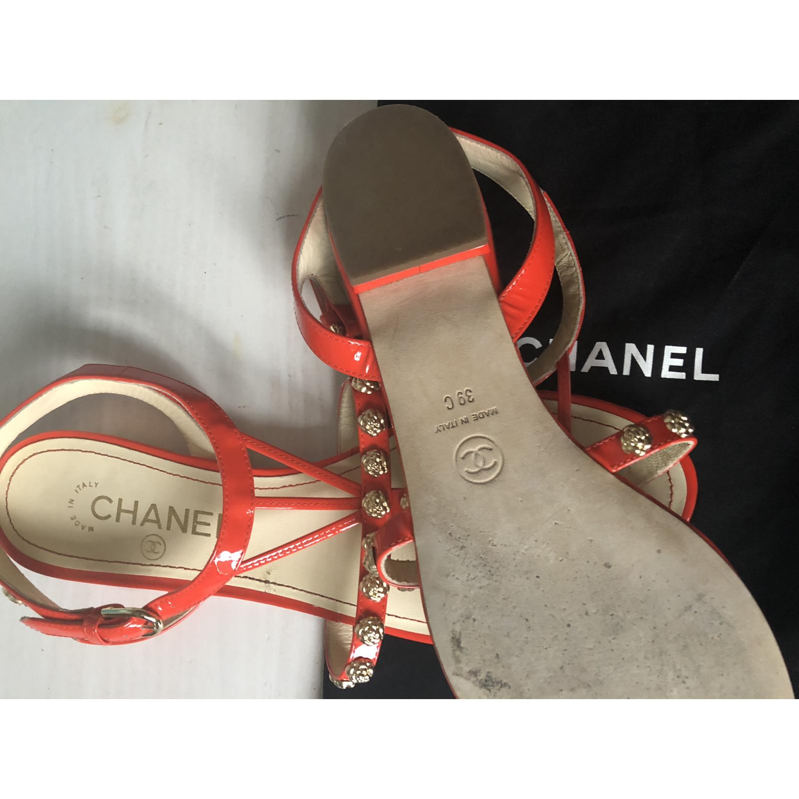 Chanel sandałki 39