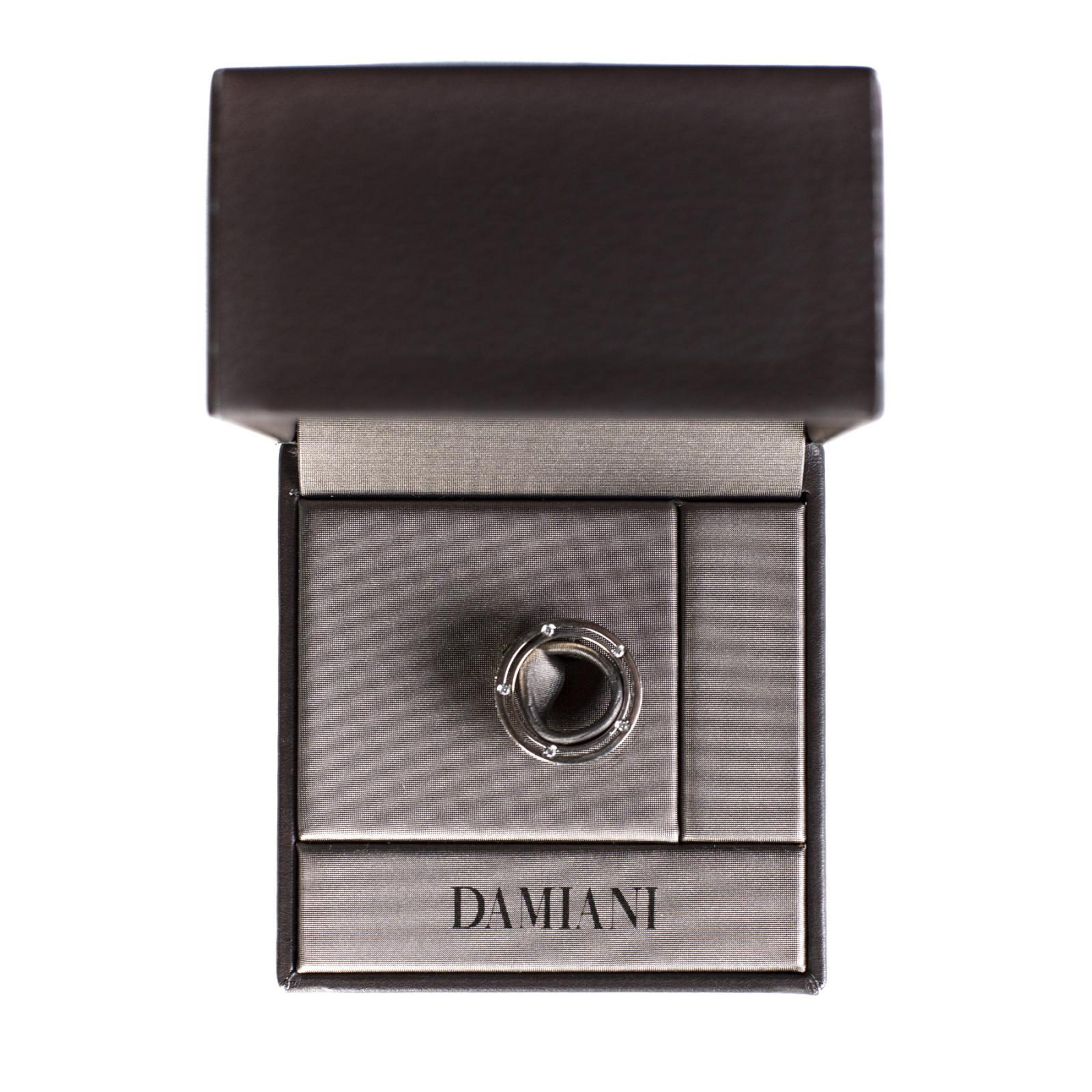 Pierścionek Damiani D.Side white gold and diamond