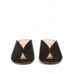 Isabel Marant klapki czarne, zamszowe