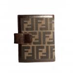 Notatnik Fendi agenda organizer okładka monogram zucca
