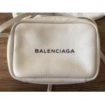 Balenciaga Camera Bag White
