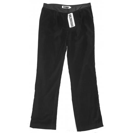 Vilshenko black velvet evening pants nowe