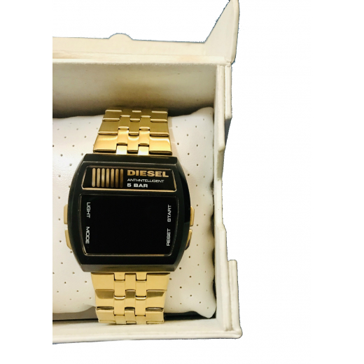 Zegarek Diesel czarno-złoty