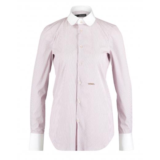 Dsquared 2 koszula rózowo-biała, 34-36