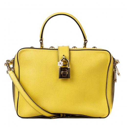 Żółta torebka Dolce&Gabbana