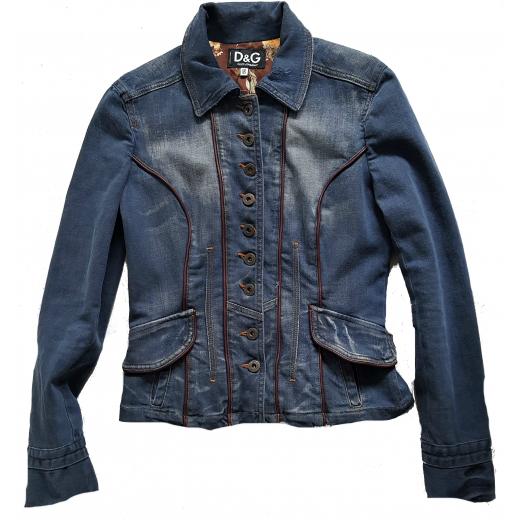 D&G kurtka jeans, nowa 36