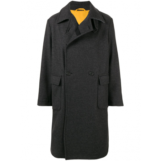 Stella McCartney double-breasted wool coat M-L