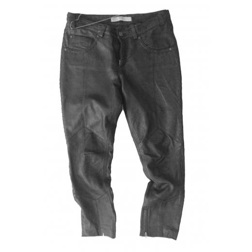 Skórzane spodnie Culture r. 36