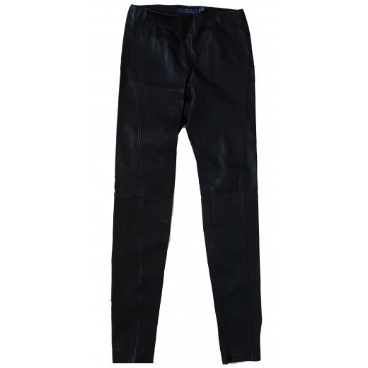 Skórzane spodnie Polo Ralph Lauren