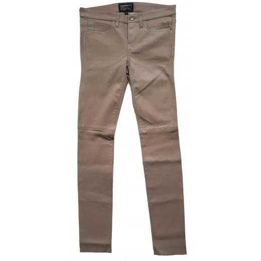 Current/Elliott spodnie skóra naturalna 27