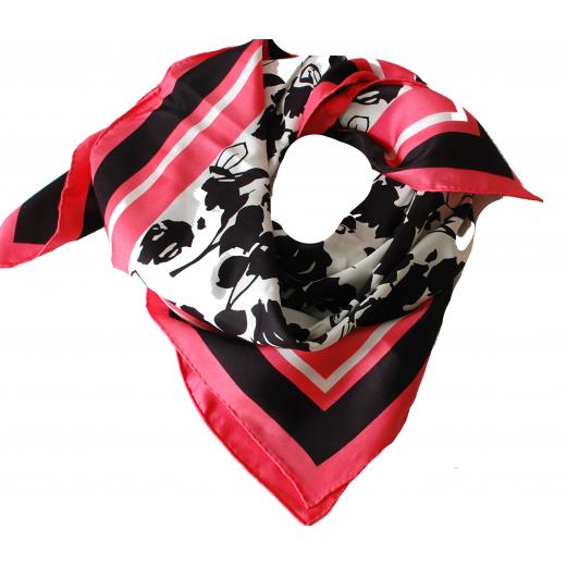 Max Mara Silk Floral Scarf