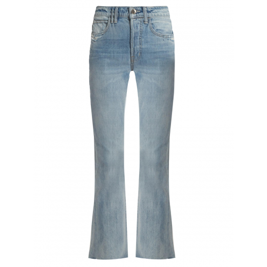 Helmut Lang Blue High Rise Cropped Jeans nowe 28