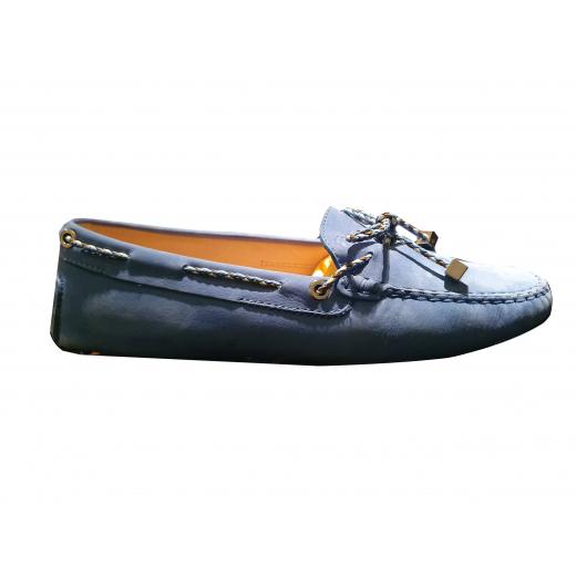 TOD'S rozmiar 39 Loafer, niebieskie