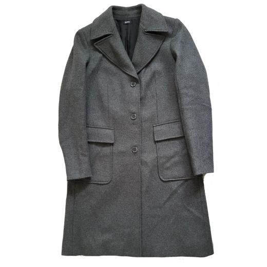 Jil Sander płaszcz wełniany