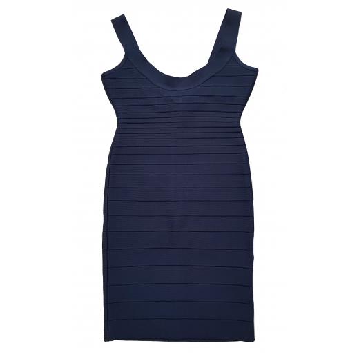 Herve Leger sukienka Pacific Blue Sidney Bandage