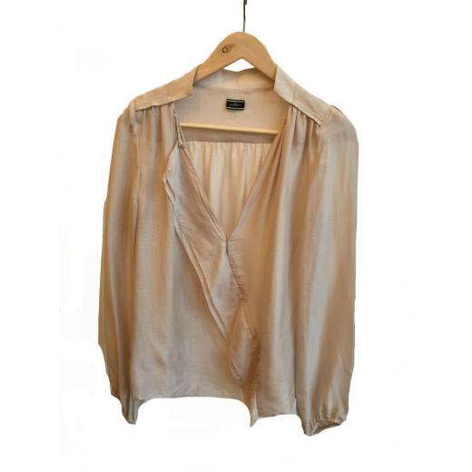 Beżowa koszula