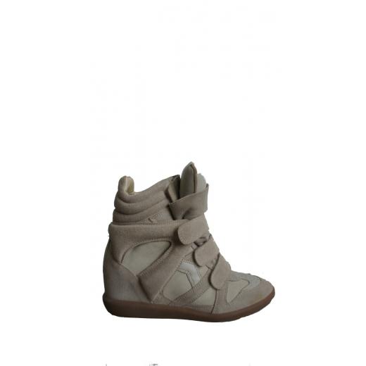 Sneakersy na platformie