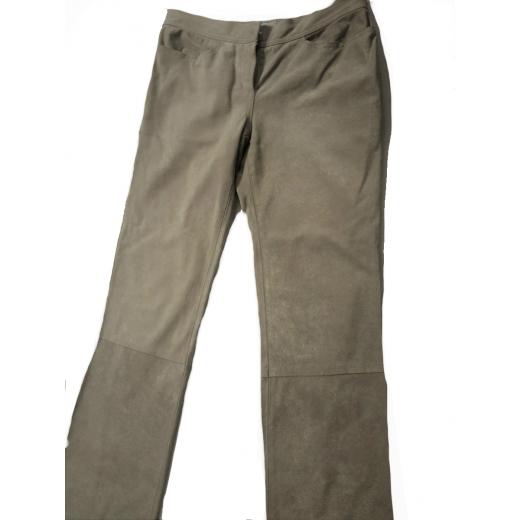 Spodnie ze skóry