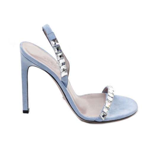 Błękitne sandałki