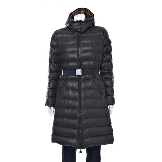 Płaszcz puchowy brązowy