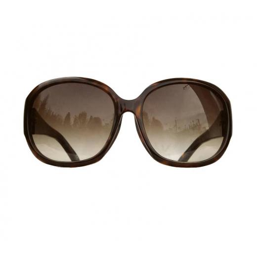 Okulary przeciwsłoneczne Dior z kryształkami