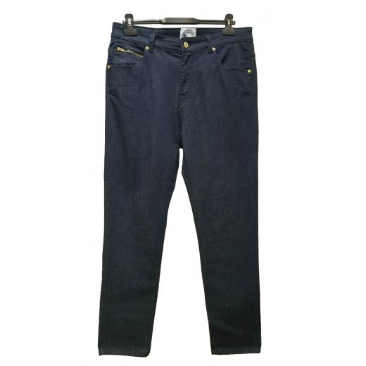 jeansy z bardzo wysokim stanem Versus Versace nowe