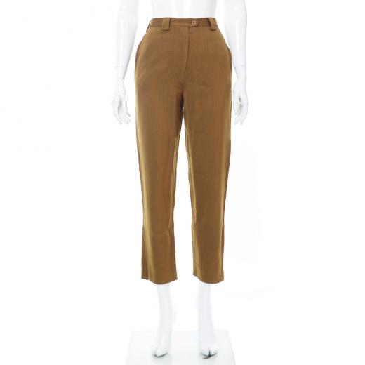 Spodnie musztardowe