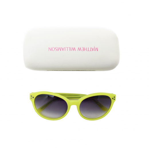Okulary limonkowe