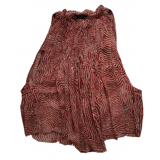 Isabel Marant Chiffon Silk Top 42FR 38-40
