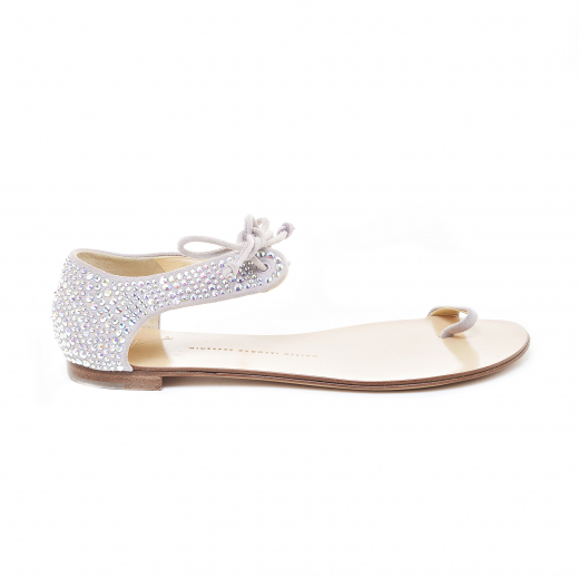 Sandałki z kryształkami