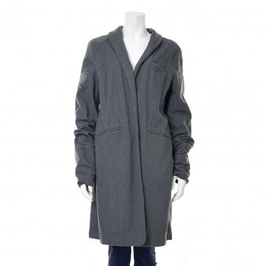 Płaszcz wełniany szary