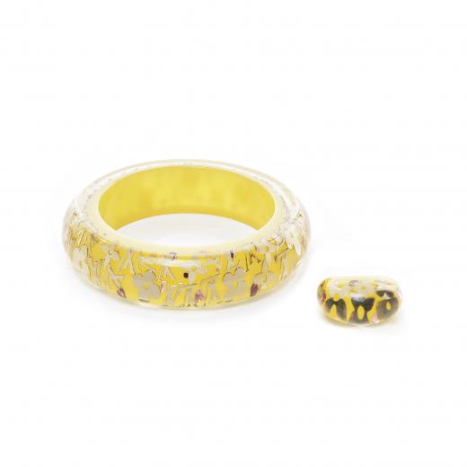 Zestaw Bransoletka z pierścionkiem