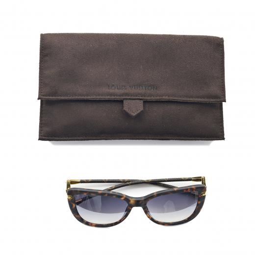 Okulary brązowe