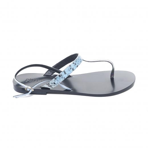 Sandałki niebieskie
