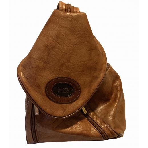 Skórzany plecak Valentiono do Paolo