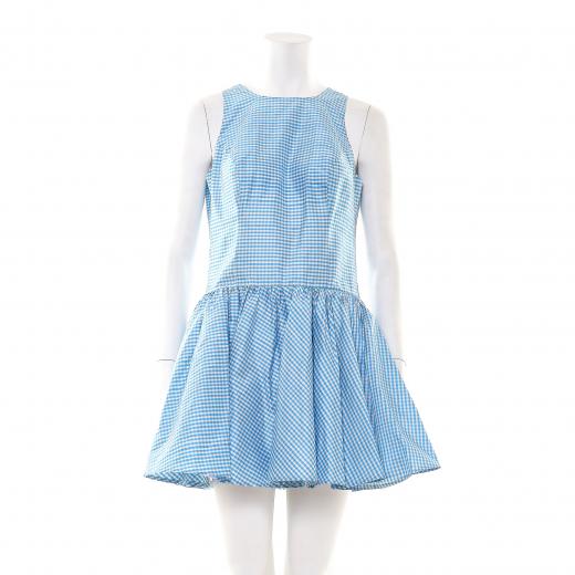 Sukienka w kratkę