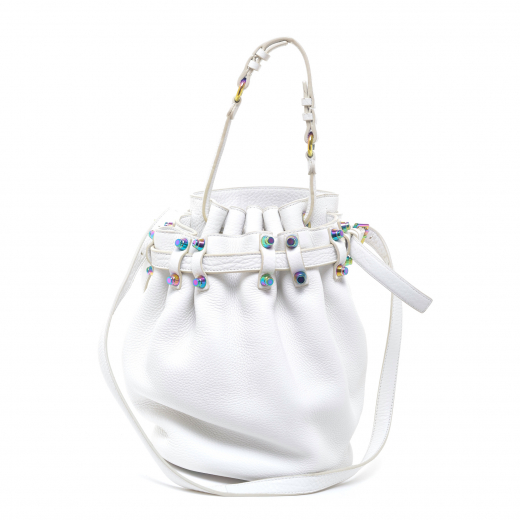 Iridescent Diego Bucket Bag
