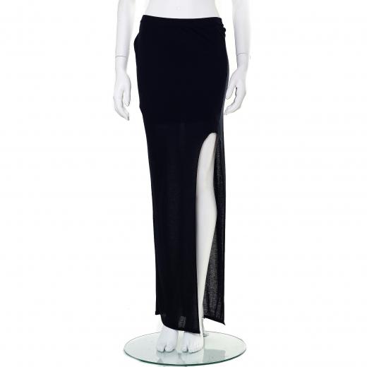 Spódnica czarna asymetryczna