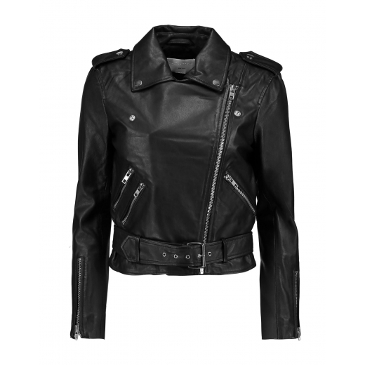 WALTER BAKER Leather biker jacket nowa