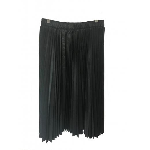Spódnica czarna plisowana