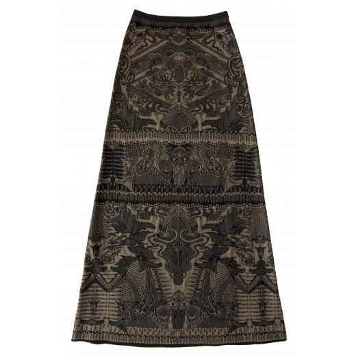 Elegancka długa spódnica