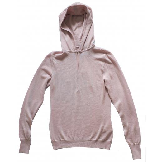 Emilio Pucci wełniany sweter z kapturem nowy