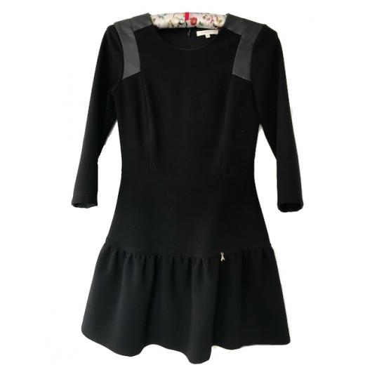 Sukienka czarna Patrizia Pepe